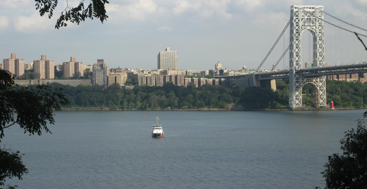 View of the Hudson River from the Carpenter's Trail - Photo by Daniel Chazin