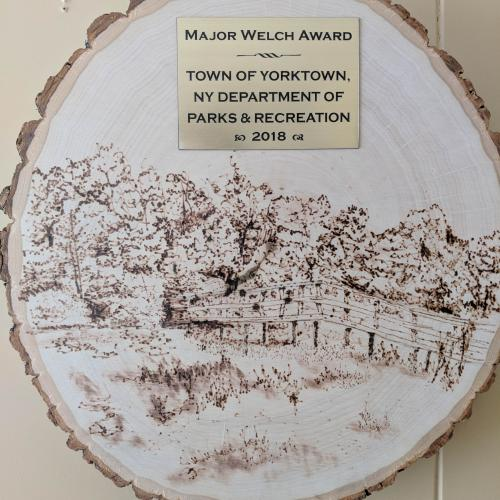 Town of Yorktown, NY Department of Parks & Recreation Partner Award