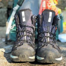 Hiking Boots. Photo by Heather Darley.