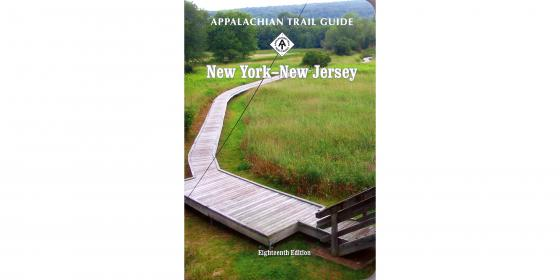 Appalachian Trail Guide to New York-New Jersey Book Cover
