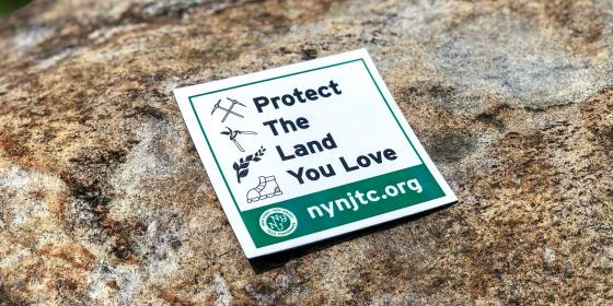 Protect the Land You Love Magnet