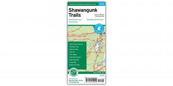 Shawangunk Trails Map Cover