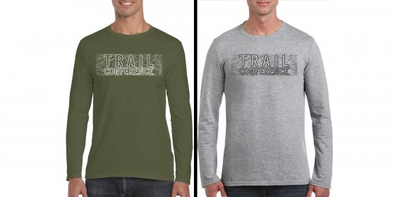 Topo Graphic Long Sleeve T-Shirt Color Options