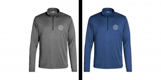 Men's Apex Baselayer Wicking Pullover Color Options