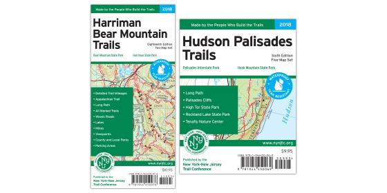 Harriman and Hudson Palisades Maps Combo